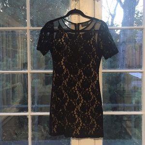Astr (Nordstrom) Black Dress